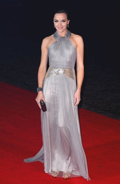 Victoria Pendleton at the world premiere of Skyfall