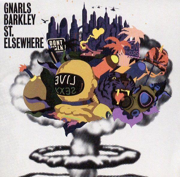 Gnarls Barkley - St.Elsewhere - #Album #CD #Cover
