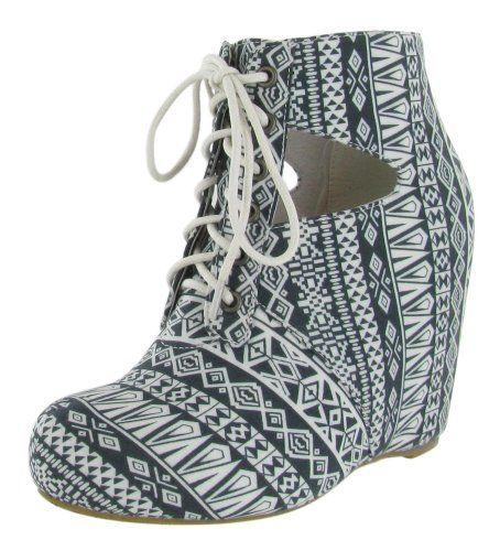 80%20 Seanne Women's Ankle Boots Wedge Bootie