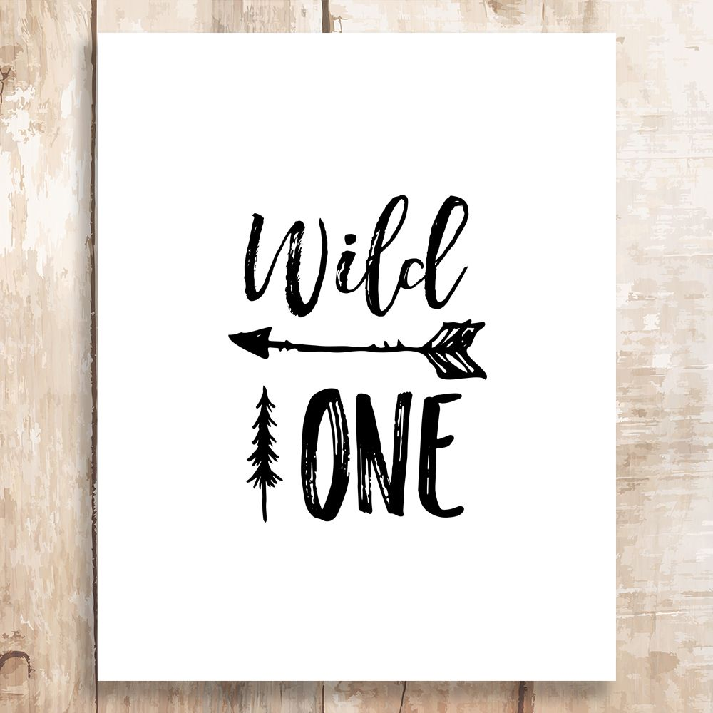 Free Printable Free Printable Wild One First Birthday Sign On Pixieandpaper Com First Birthday Sign Birthday Sign Free Birthday Printables