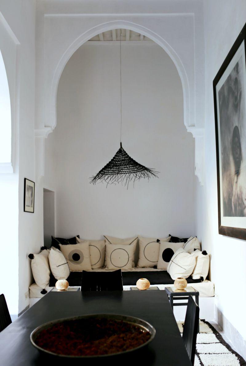 Marrakech Decoration D Interieur dar kawa, uno de los mejores riads en marrakech | déco