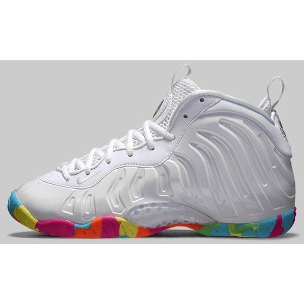 huge discount 9b338 cff66 Nike Little Foamposite Little Posite One Fruity Pebble White ...