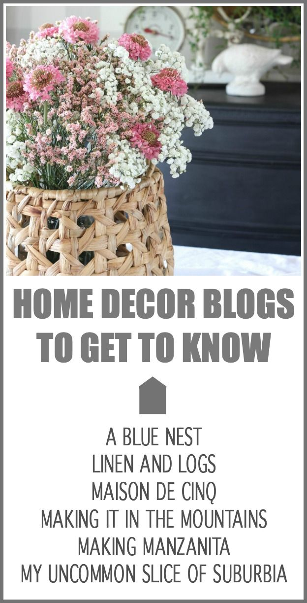 Get to Know these Amazing Home Bloggers. You will love their creative DIY projects, beautiful home decor, delicious recipes, and more. #hymnsandverses #homedecor #homedecorblogs #bloggers #diydecor #diyblog #blog