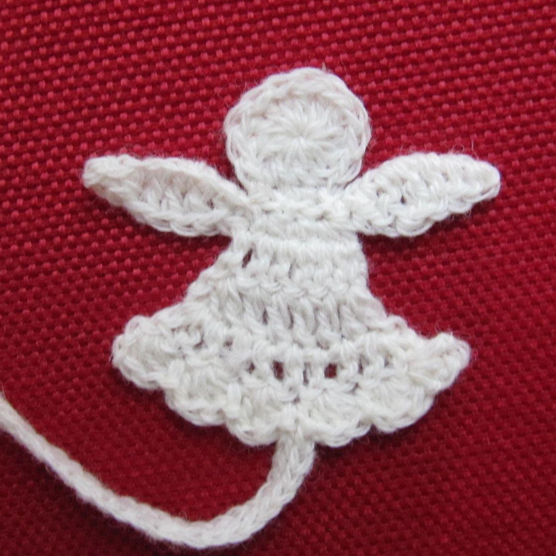 Anleitung Für Einen Gehäkelten Engel Handmade Crochet Crochet
