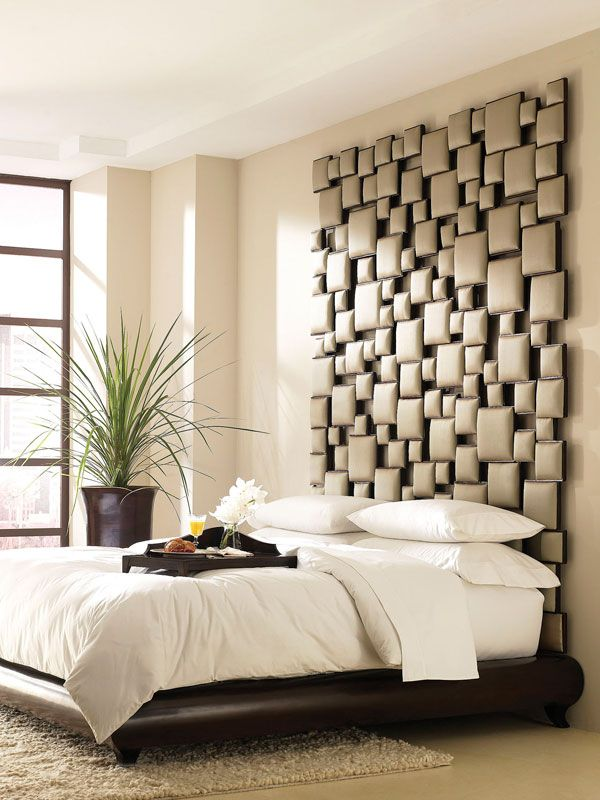 35 cool headboard ideas to improve your bedroom design #interior