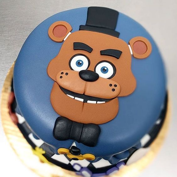 Five Nights At Freddy S Cake Topper