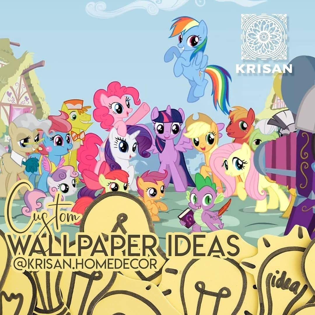 My Little Pony Wallpaper Dinding My Little Pony Wallpaper R Wallpaper Wallpaper