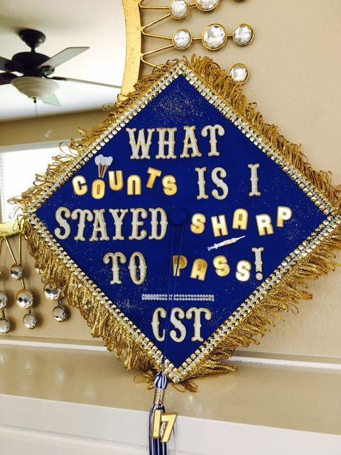 Surgical Technologist Graduation Cap 2017 #surgicaltechnologist Surgical Technologist Graduation Cap 2017 #surgicaltechnologist