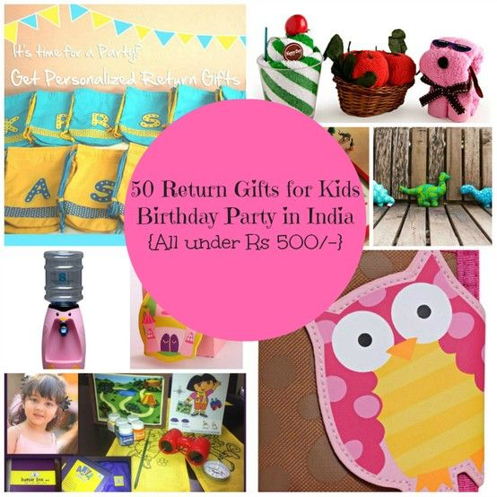 Return Gifts Ideas For Kids In India 50 Birthday Party