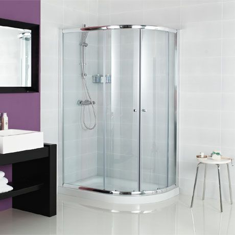 Roman Haven Two Door Offset Quadrant Shower Enclosure In