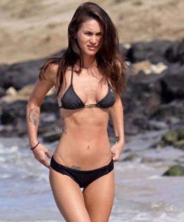 Megan fox sexy bikini