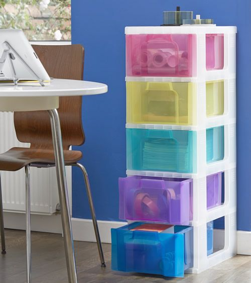 5 drawer storage tower from Really Useful Boxes & 5 drawer storage tower from Really Useful Boxes | HOUSE STORAGE ...