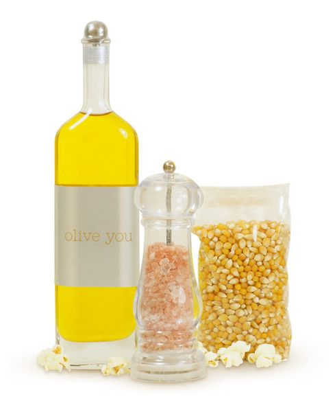 Popcorn Gift Set--$100.00--Available at TheWellnessCafe.com
