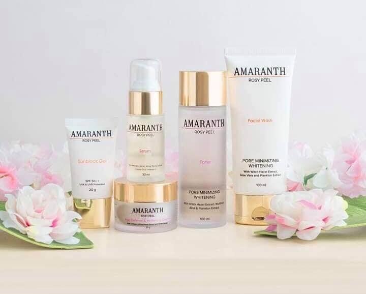 Amaranth Beauty Skin Care by Technowise360. Technowise360
