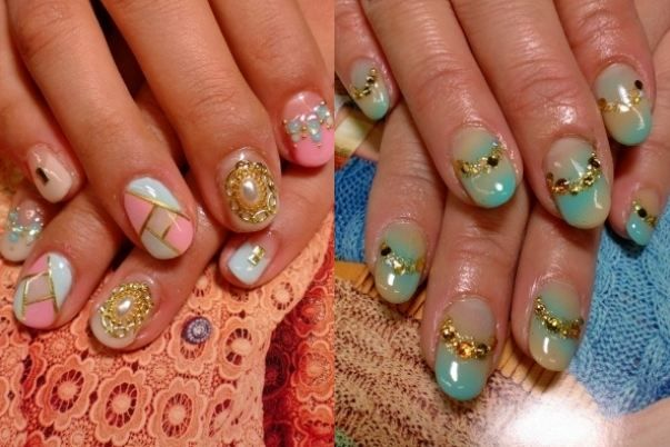 nail design ideas 2012 1000 images about nails on pinterest gold nails beach nail art