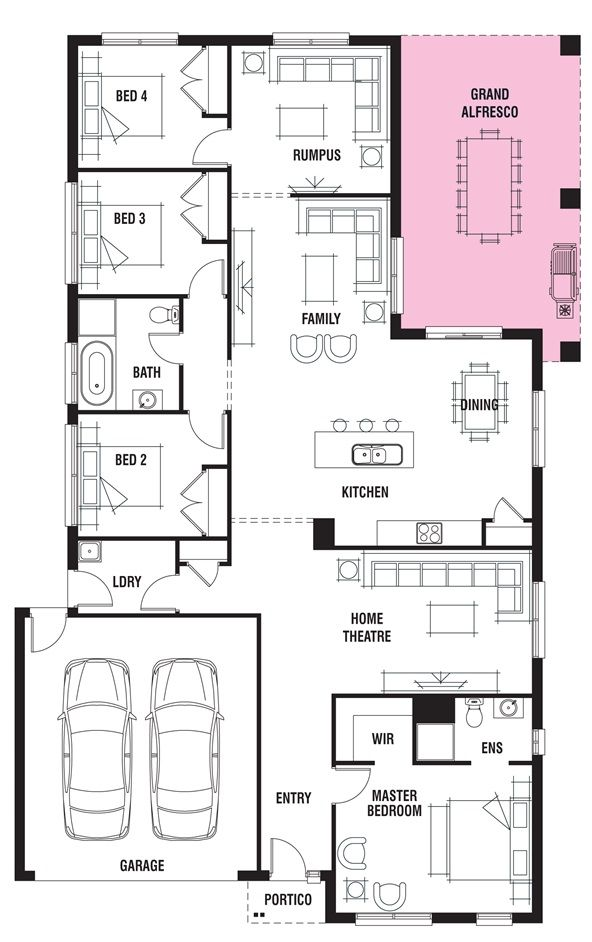 House Design Kew Porter Davis Homes House Plan