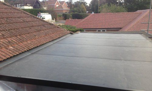 Rubber Roof Cheshire | Rubber roofing, Rubber slate roof ...