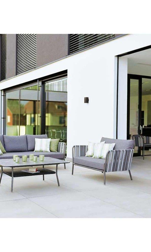 Gartenlounge grau anthrazit Stern Loungemöbel Space    www - garten loungemobel anthrazit
