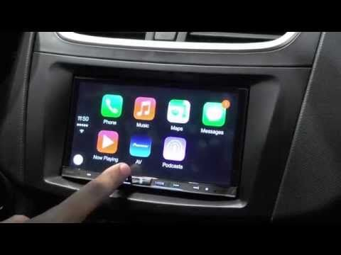 Handson with Apple CarPlay from Pioneer Same great