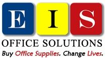 EIS Office Solutions  Donating 50% of Corporate Profit to Change Lives.    EIS stands for Excellence, Integrity and Savings. We believe that we have the best customer service in this industry. We will always conduct every transaction with honesty and integrity. The mission of EIS is to be the lowest priced office supply dealer anywhere!    Over 40,000 Office Supply items located in 38 warehouses throughout the United States.