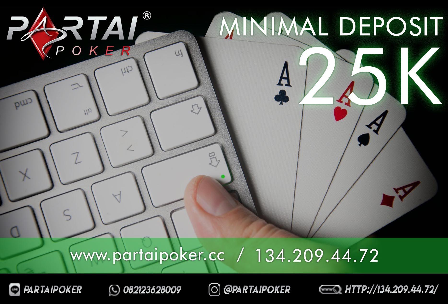 Poker Online Terbesar di indonesia DAFTAR sekarang juga di PARTAI POKER Line : partaipoker…