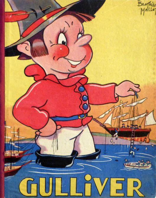 les voyages de gulliver 1939