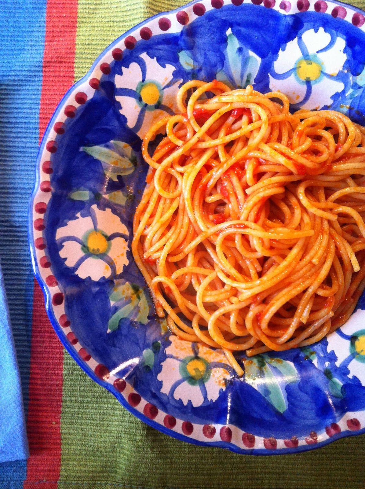 Pici all'Aglione | recipe from Aglio, Olio e Peperoncino