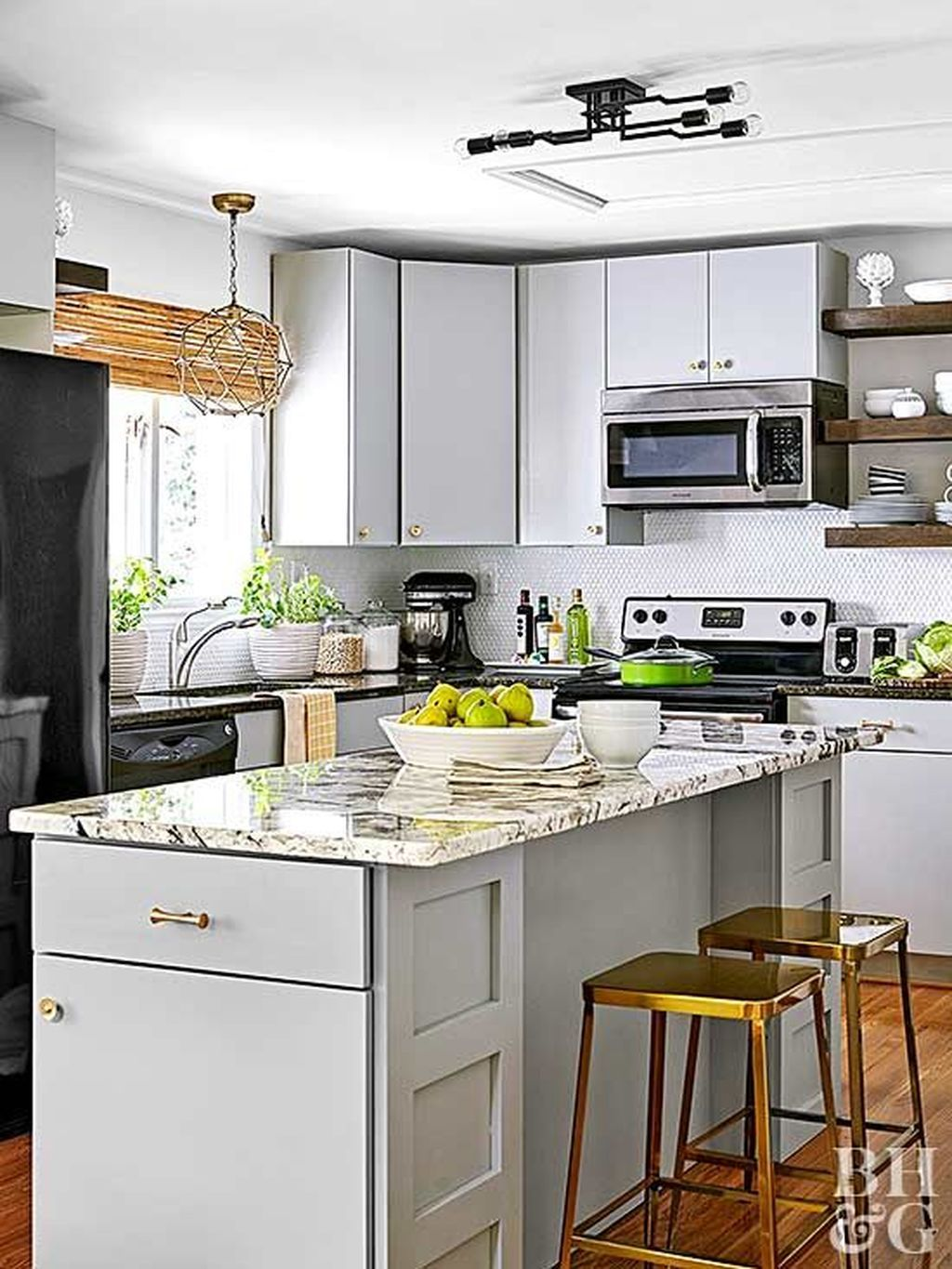 30 Cool Kitchen Designs Idas With Tones Of Vibrant Colors That You Must See Design Color Colour Combination Country