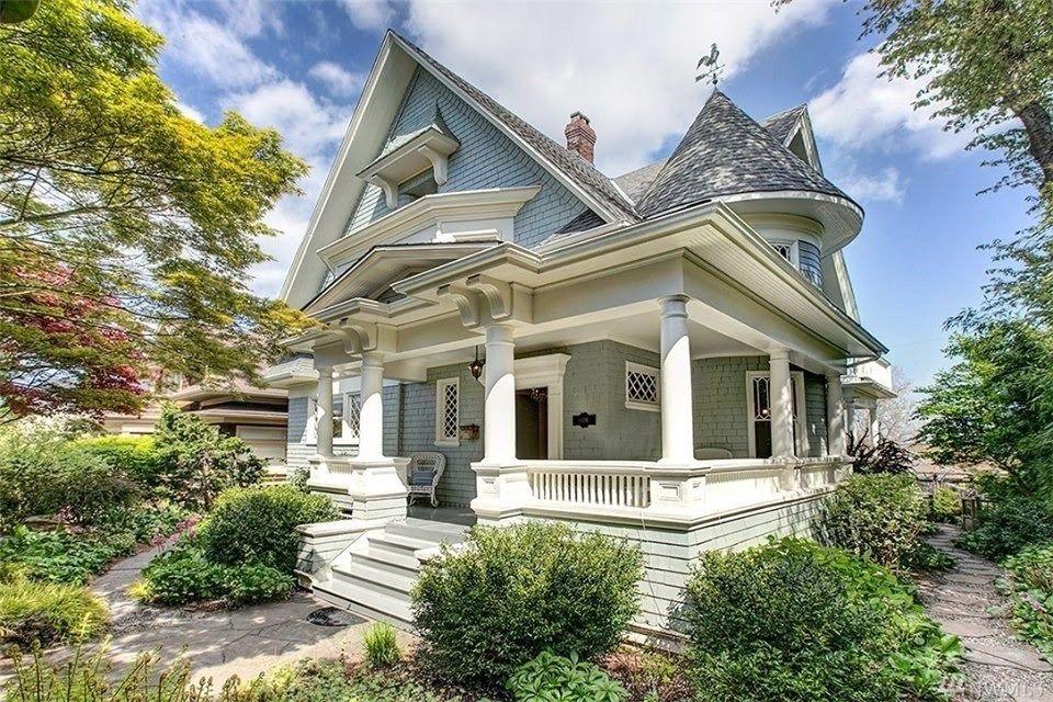 1902 Victorian In Seattle Washington Captivating Houses Victorian Homes Seattle Washington Mansions For Sale