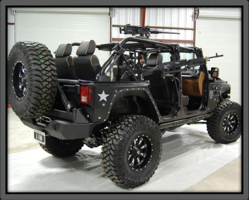 Backup jeep!! For when my hummer fails...which it will never do!