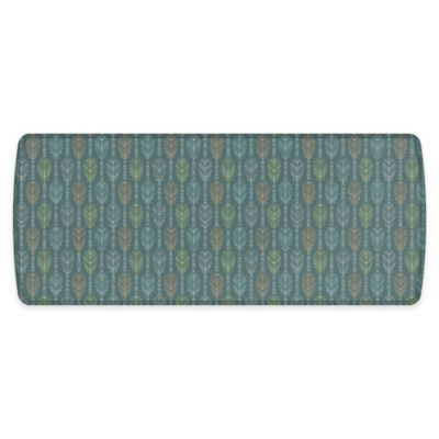 Gelpro Elite 30 X 72 Mccrae Comfort Floor Mat In Gulf Tide