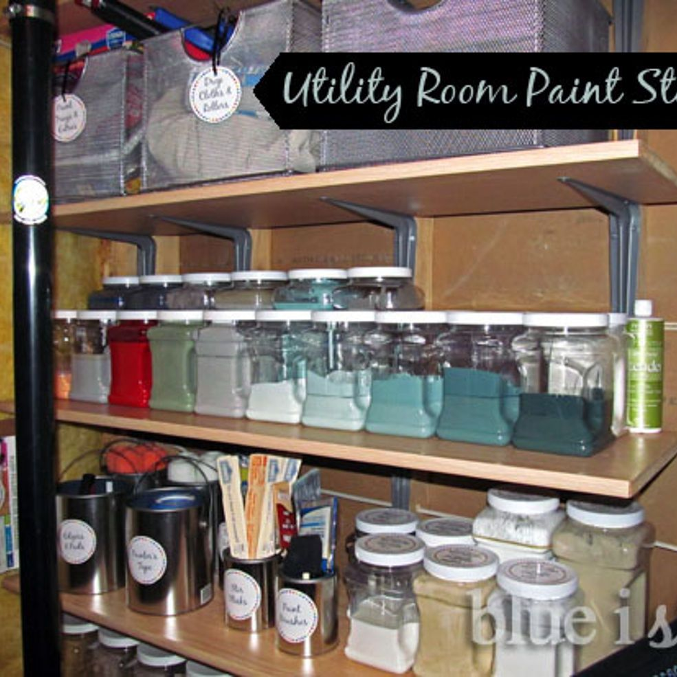 Supplies For Painting A Room basement paint storage & organization | paint supplies, paint