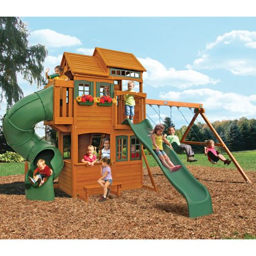 Cedar Summit Shelbyville Deluxe Playset Do It Yourself Costco