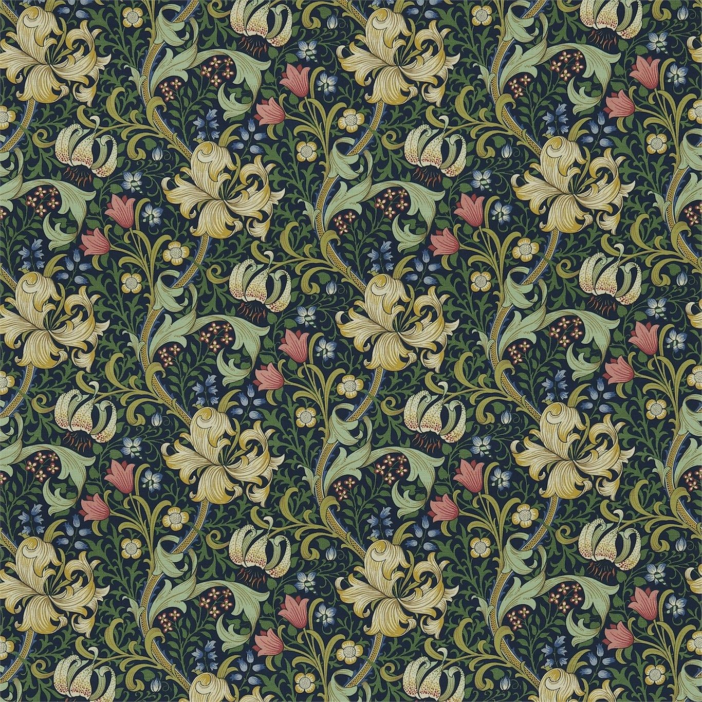 William Morris Rugs Reproductions: Arts And Crafts, Fabrics And