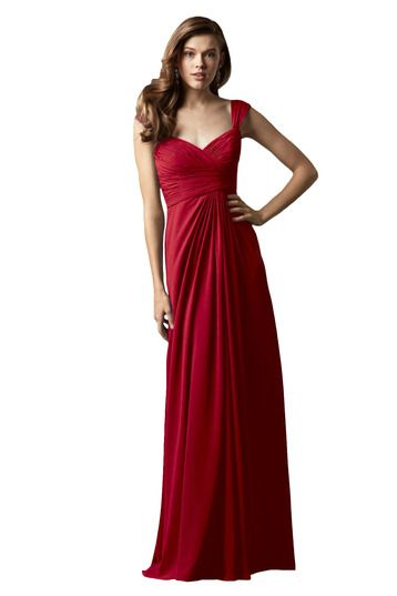 Shop Watters Bridesmaid Dress - Mahogany in Crinkle Chiffon at Weddington Way. Find the perfect made-to-order bridesmaid dresses for your bridal party in your favorite color, style and fabric at Weddington Way.