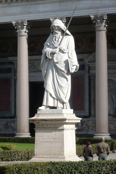 Statue of St. Paul, San Paolo fuori le Mura