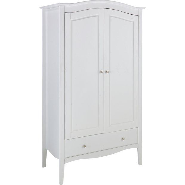 Buy Heart Of House Avignon 2 Door 1 Drawer Wardrobe White At Argos Co Uk Your Online Shop - Garden Furniture Clearance Company Uk