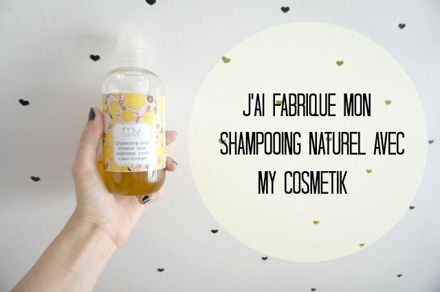 J'ai fabriqué mon shampoing naturel moi même avec Mycosmetik | Shampooing naturel, Cosmétiques ...