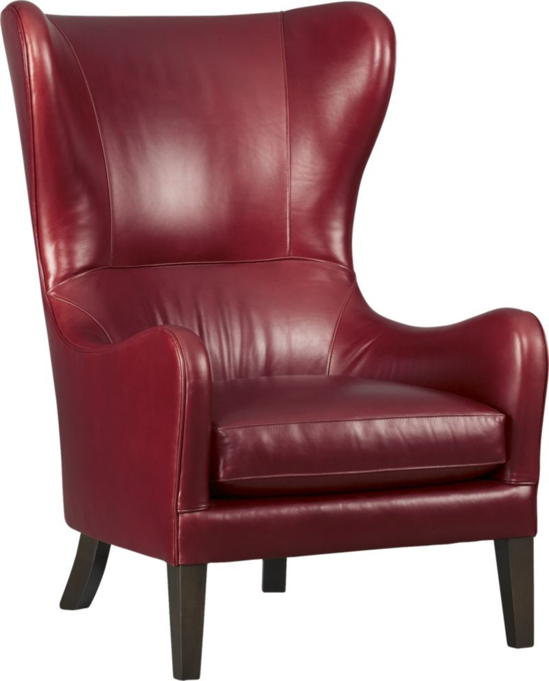 Super I Love Everything About This Chair Garbo Leather Wingback Machost Co Dining Chair Design Ideas Machostcouk
