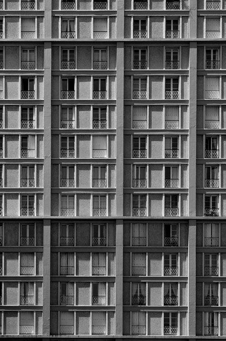 auguste perret rue de paris le havre auguste perret architecture oscar niemeyer facade. Black Bedroom Furniture Sets. Home Design Ideas