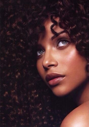 Beautiful Black Woman With Blue Grey Eyes Women S World