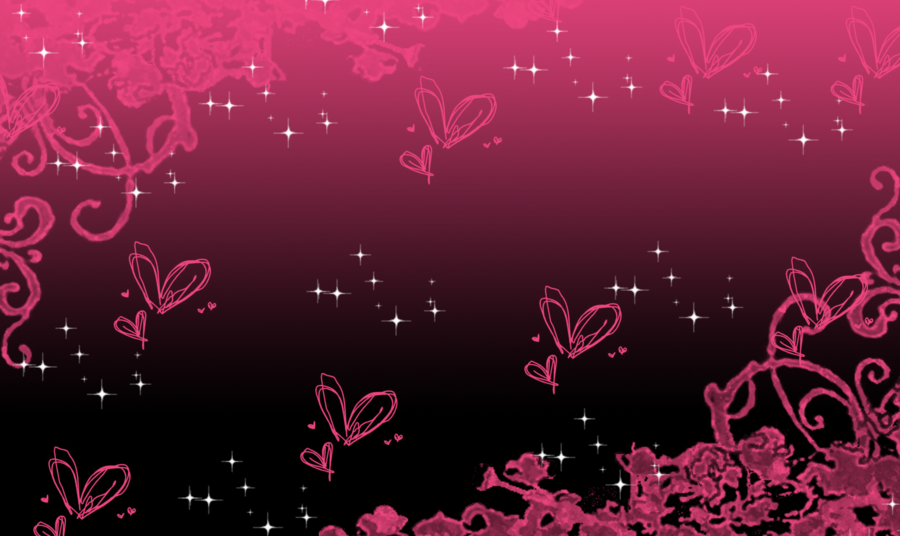 pink and black backround
