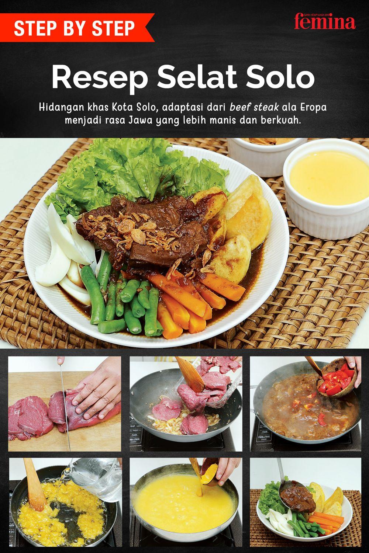 Cara Membuat Selat Solo Resep Makanan Asia Masakan Masakan Indonesia
