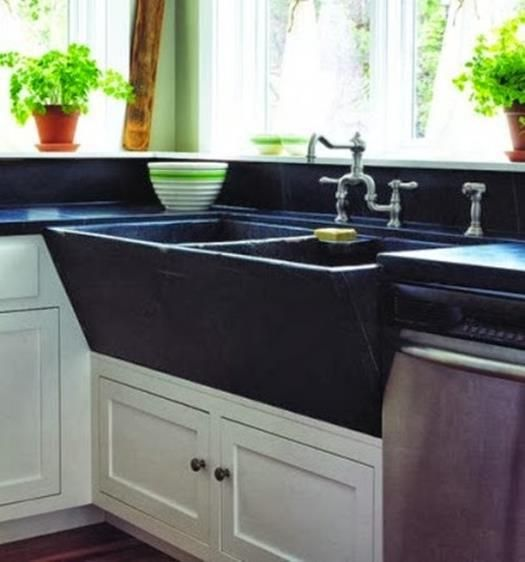 Etonnant 42 Inspiring Soapstone Farmhouse Sink Design Ideas | Sink Design, Soapstone  And Sinks