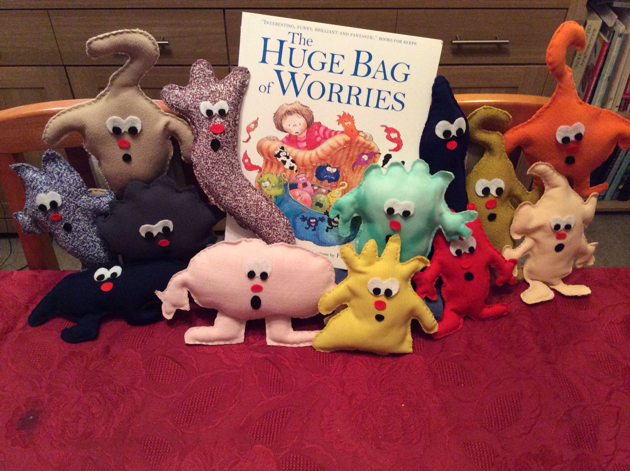 The Huge Bag Of Worries Complete With Worries With