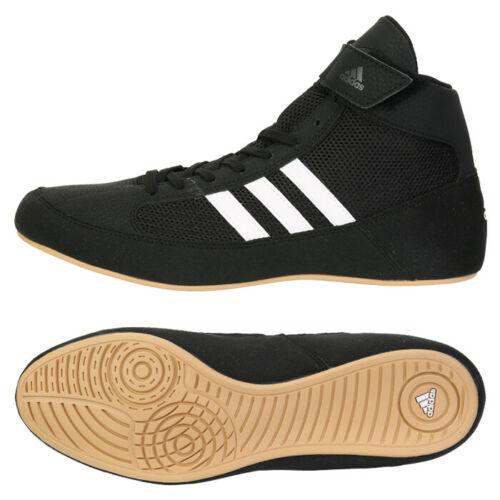 Adidas Hvc 2 Men's Boxing Shoes Training Wrestling Black AQ3325 ...
