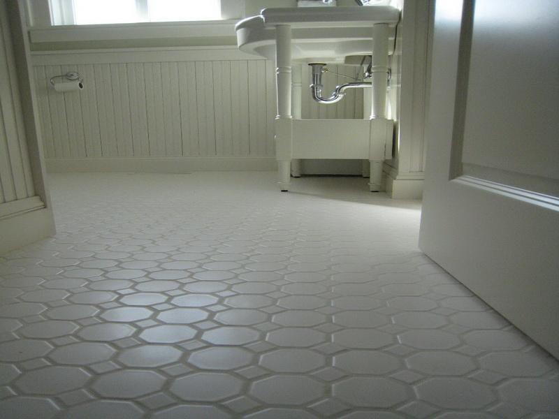 Simple Bathroom Floor Covering Ideas Interior Design