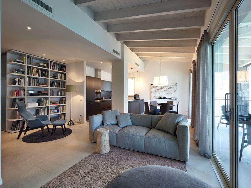 Arredamento soggiorno moderno 2015: scopriamo come arredare questa ...