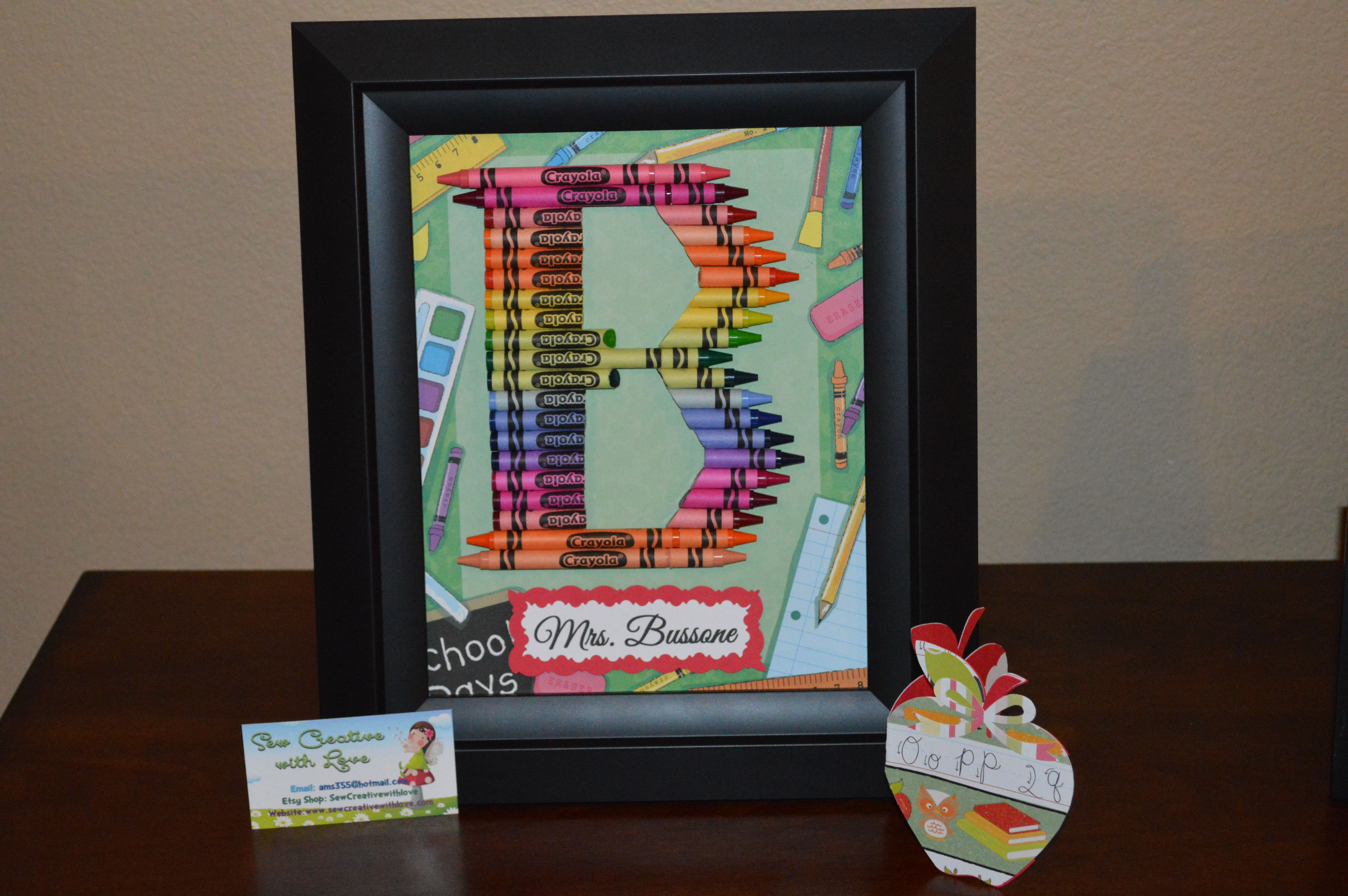 Crayon Letter B Crayon Letter Initial Art