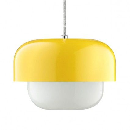 Haipot pendant light yellow retro designer pendant lamp kitchen haipot pendant light yellow retro designer pendant lamp mozeypictures Choice Image